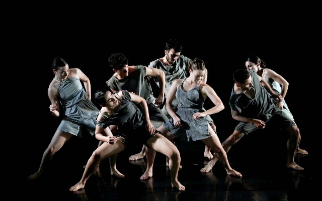 From ON by Adi Salant for the Fresco Dance Company, premiering in Tel Aviv on May 11, 2021 (Courtesy Efrat Mazor)