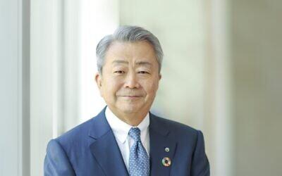NTT President and CEO Jun Sawada (Shoko Takayasu Shoko Photography 2021)