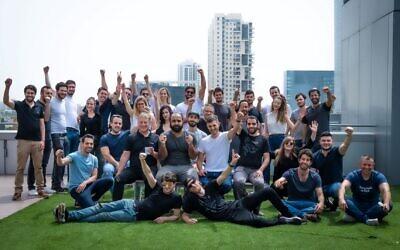 SAM Seamless Network's team in Tel Aviv; May 2021 (Courtesy)
