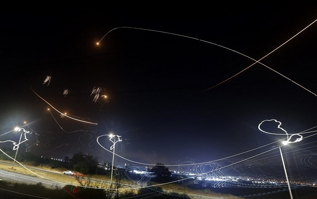 Gaza terrorists fire barrages at Jerusalem, southern Israel, raising fear  of war   The Times of Israel