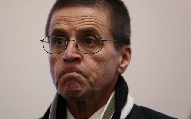 In this file photo taken on January 17, 2018, Hassan Diab holds a press conference at Amnesty International Canada in Ottawa, Ontario, following his return to Canada.  (Lars Hagberg / AFP)