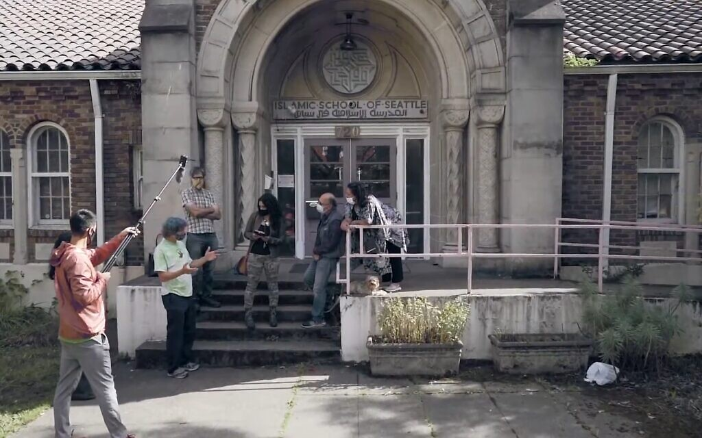 The Islamic School of Seattle in 2007. Community figures hope to turn the property into a multifaith cultural center. (Screenshot/YouTube)
