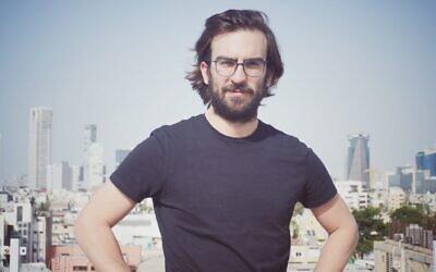 Ori Kol of FakeReporter in Tel Aviv. (Courtesy of Ori Kol via JTA)