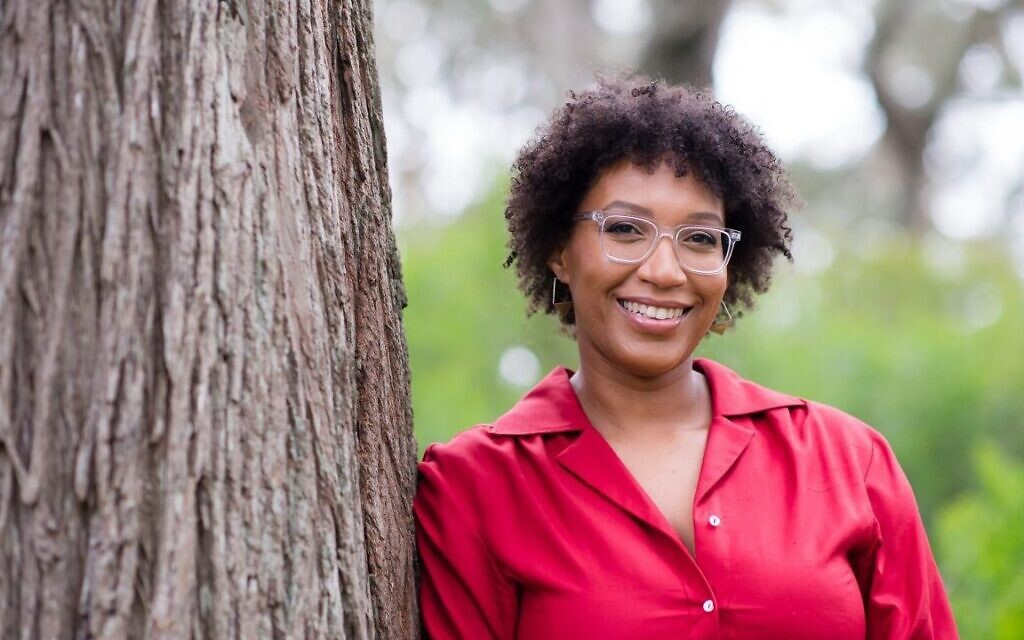 Christina Jefferson says of her career in diversity work: 'Really it's just tikkun olam. How we can repair this broken world.' (Chloe Jackman/ via JTA)