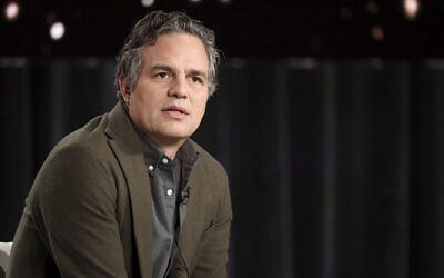 """Mark Ruffalo appears at the """"I Know This Much is True"""" panel during the HBO TCA 2020 Winter Press Tour at the Langham Huntington on January 15, 2020, in Pasadena, California. (Photo by Willy Sanjuan/Invision/AP)"""