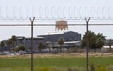 The state prison in Florence, Arizona that houses the state's gas chamber, on July 23, 2014. (AP Photo)