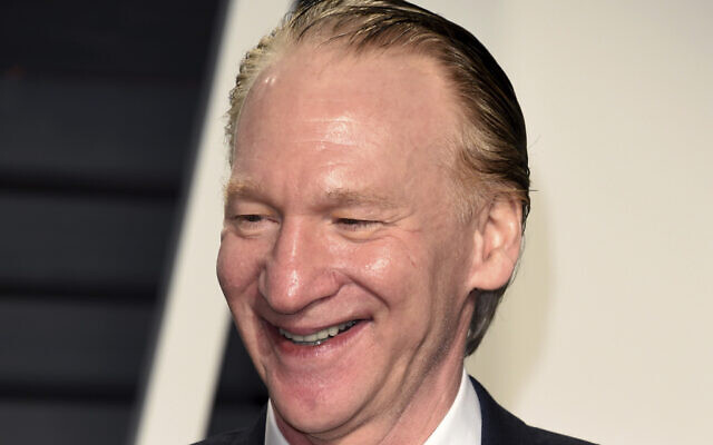 Bill Maher arrives at the Vanity Fair Oscar Party in Beverly Hills, California, February 26, 2017.  (Evan Agostini/Invision/AP)