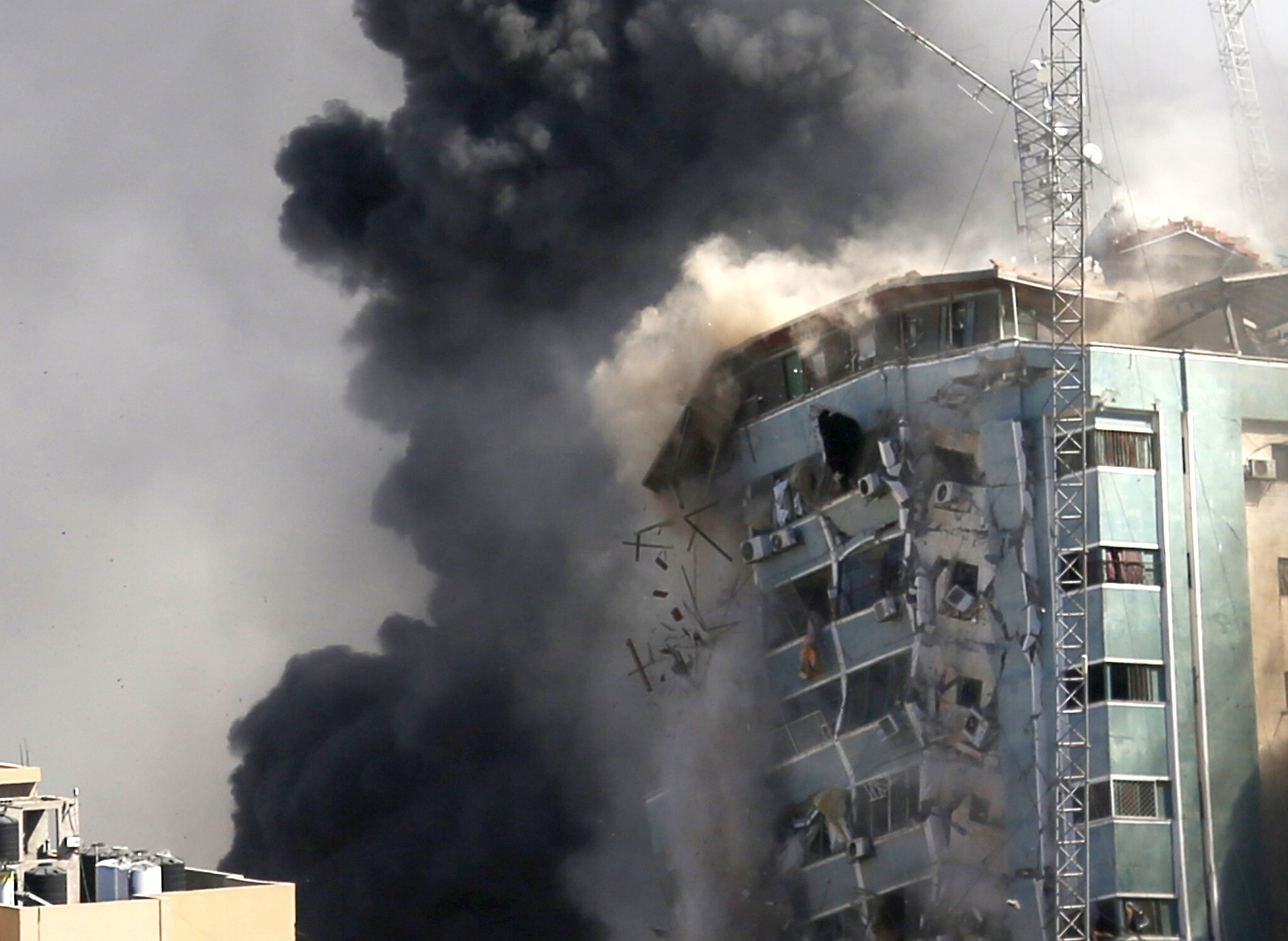Associated Press demands probe of Israel's leveling of Gaza media tower |  The Times of Israel