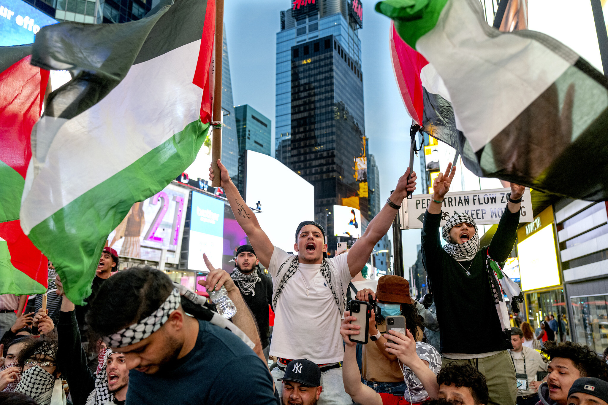 Jews attacked, one person burned amid pro-Palestinian protests in New York City | The Times of Israel