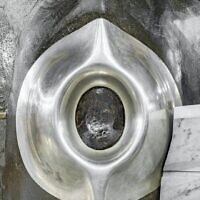 The black stone of the Kaaba in Mecca. (Saudi Arabia General Presidency of the Grand Mosque and the Prophet's Mosque)