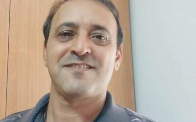 Yigal Yehoshua, 56, died after being struck in the head with a brick while driving home in Lod. (Courtesy)