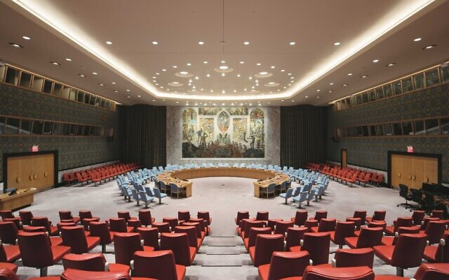 The UN Security Council chambers in New York. (Norway Mission to the UN/Twitter)