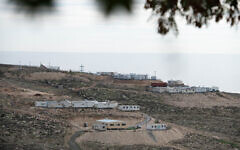 View of the Israeli outpost of Mitzpe Dani, in the West Bank on January 17, 2021. (Sraya Diamant/Flash90)