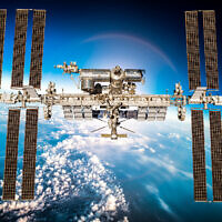 An image of the International Space Station (Andrey Armyagov Dreamstime)