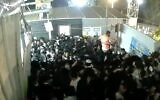 Screen capture from video of the disaster during Lag B'Omer celebratons at Mount Meron, April 30, 2021. (Channel 12 News)