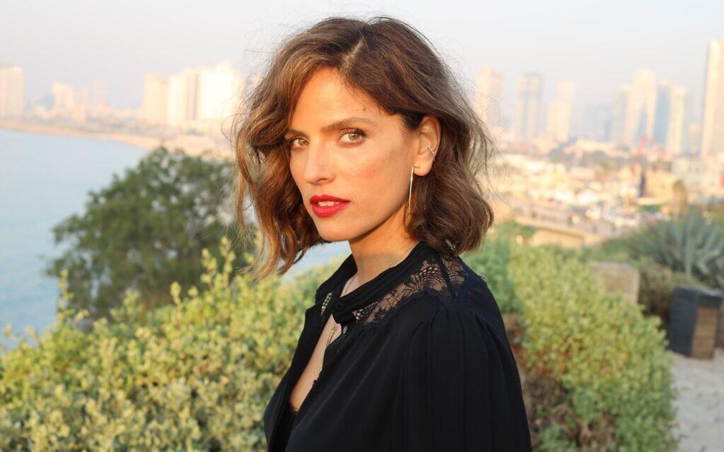 Noa Tishby in Jaffa, January 2021. (Alon Shafransky)