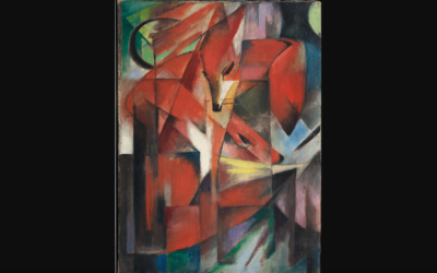 """""""The Fox"""" by Franz Marc (Wikipedia Commons)"""