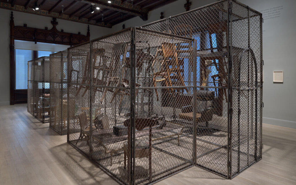 Installation view of 'Louise Bourgeois: Freud's Daughter,' at The Jewish Museum in New York. (Photo by Ron Amstutz. © The Easton Foundation/ Licensed by VAGA at Artists Rights Society, New York)