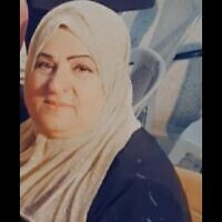 Fahima al-Hroub, 60, a resident of Wadi Fukin killed by Israeli forces during an alleged stabbing attack on May 1, 2021 (courtesy: al-Hroub family)