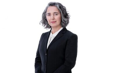 Anat Guetta, chairwoman of the Israel Securities Authority (Courtesy)