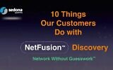 Sedona Systems has developed NetFusion to help operate optimal network infrastructure (YouTube screenshot)