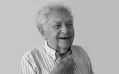 Former director of the Yad Vashem Holocaust memorial, Yitzhak Arad in an undated photo. (Yad Vashem / courtesy)