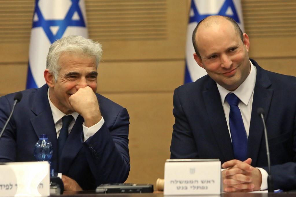 At first cabinet meeting, Bennett, Lapid vow to work to make new government  last | The Times of Israel