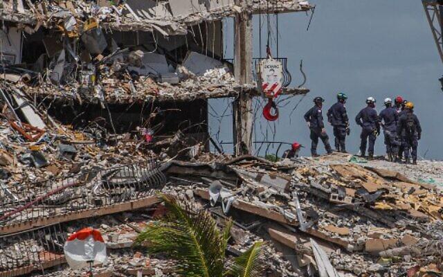 Mother's instinct sent family scrambling to safety, says Miami collapse survivor
