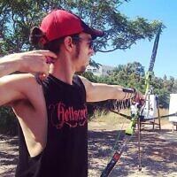 Israeli archer Itay Shanny. (Courtesy)