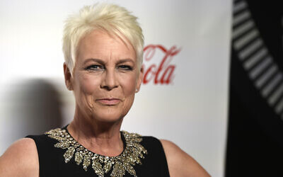 Illustrative: Jamie Lee Curtis poses at the Big Screen Achievement Awards at Caesars Palace in Las Vegas, Nevada, April 4, 2019. (Photo by Chris Pizzello/Invision/AP, File)