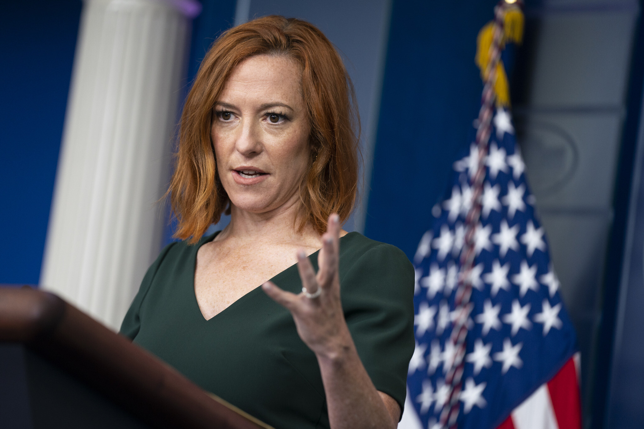 Vaccinated White House official tests positive for COVID | The Times of Israel