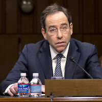 Thomas Nides, testifies to the Senate foreign Relations Committee on Capitol Hill in Washington, December 20, 2012. (AP Photo/J. Scott Applewhite, File)
