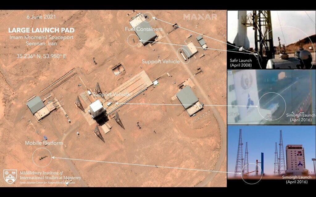 هل وراءوه اسرائيل؟ايران تفشل باطلاق قمر صناعي تجسسي