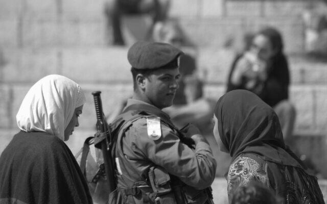 One of photographer Blake Ezra's early photographs, during a trip to Israel (Courtesy Blake Ezra)