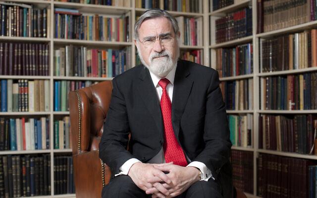 An image of British Chief Rabbi Lord Sacks from 2013 (Courtesy © Blake-Ezra Photography Ltd.)