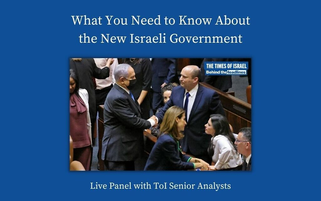 WATCH: Behind the Headlines – The New Israeli Government