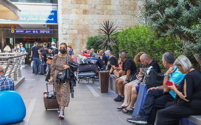 Ben Gurion International Airport on June 20, 2021. (Yossi Aloni/FLASH90)