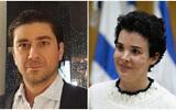 (L) Aviad Moshe (Courtesy) and (R) Shira Isakov (Yonatan Sindel/Flash90)