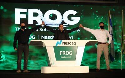 JFrog held its Nasdaq IPO in Sept. 2020 (Courtesy)