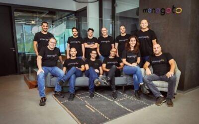 The Monogoto team; June 2021 (Courtesy)