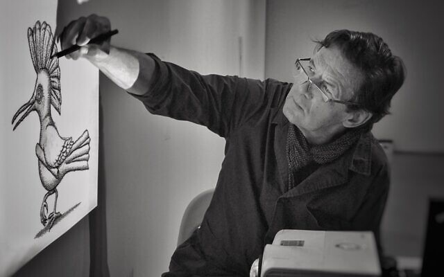 Author and illustrator Peter Sis. (Vit Belohradsky)