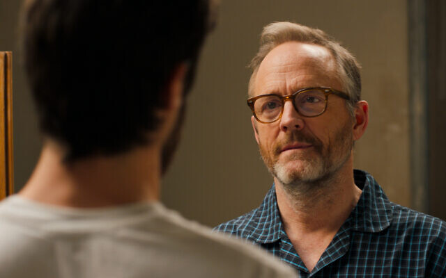 John Benjamin Hickey stars as Michael in Eytan Fox's 'Sublet.' (Daniel Miller)