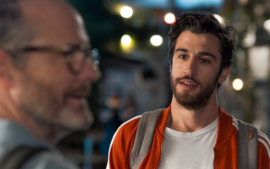 John Benjamin Hickey, left, stars as Michael and Niv Nissim, right, stars as Tomer in Eytan Fox's 'Sublet.' (Daniel Miller)