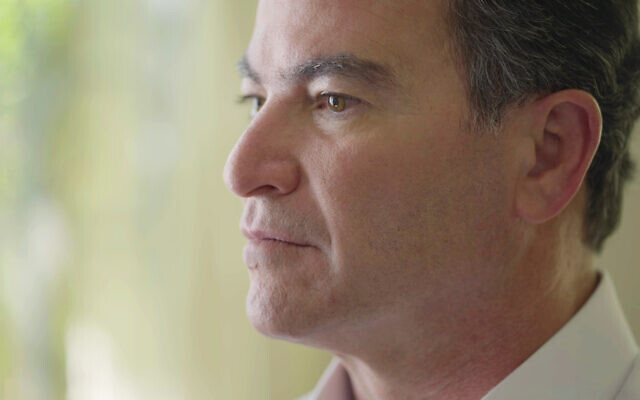 Former Mossad chief Yossi Cohen in an interview with Channel 12 broadcast on June 10, 2021 (Channel 12)