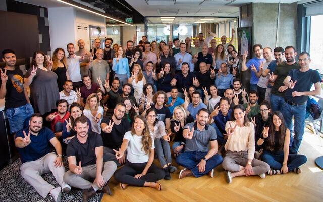 Verbit's team, June 2021 (Eric Sultan)