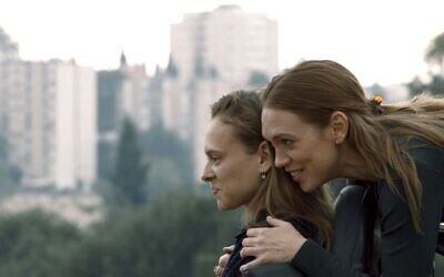 Shira Haas (left) and Alena Yiv (right) in 'Asia,' Ruthy Pribar's devastating debut film screening in Israel at the end of June 2021 (Courtesy PR)