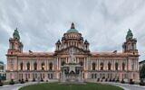 The City Hall of Belfast (Giorgio Galeotti/Wikimedia Commons via JTA)