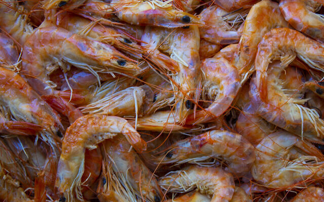 An illustrative image of dried shrimp (Maurian Soares Salvador; iStock by Getty Images)