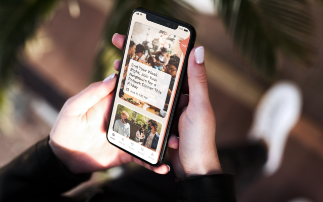 Venn has developed an app to facilitate neighborhood experiences and provides ways for people to better connect to their neighbors and neighborhood (Courtesy)