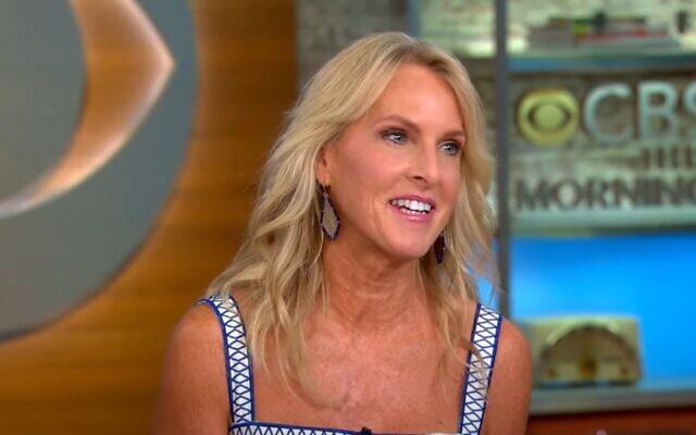 American author Elin Hilderbrand in June 2021 (CBS video screenshot)